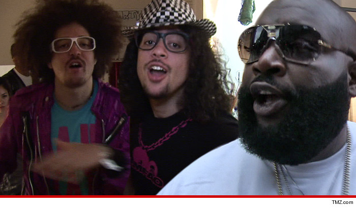 LMFAO -- Rick Ross Is a FAKE Thug!