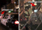 Usher: Cop Chase Ends with Photo Op ... But NO TICKET  [VIDEO]