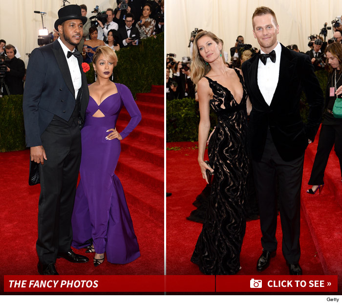 Carmelo Anthony Met Gala 2014