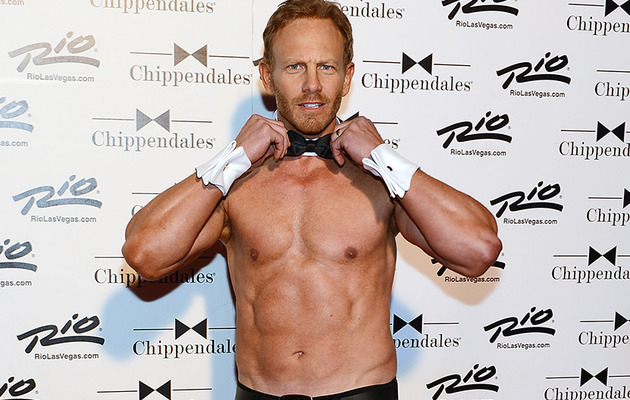 Ian Ziering Returning to Chippendales!