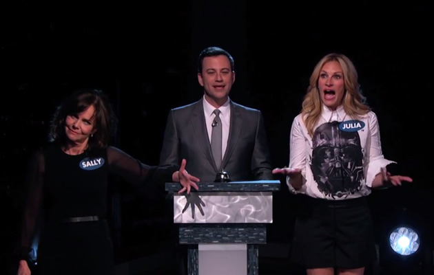 Watch Julia Roberts & Sally Field Compete in Celebrity Curse-Off!
