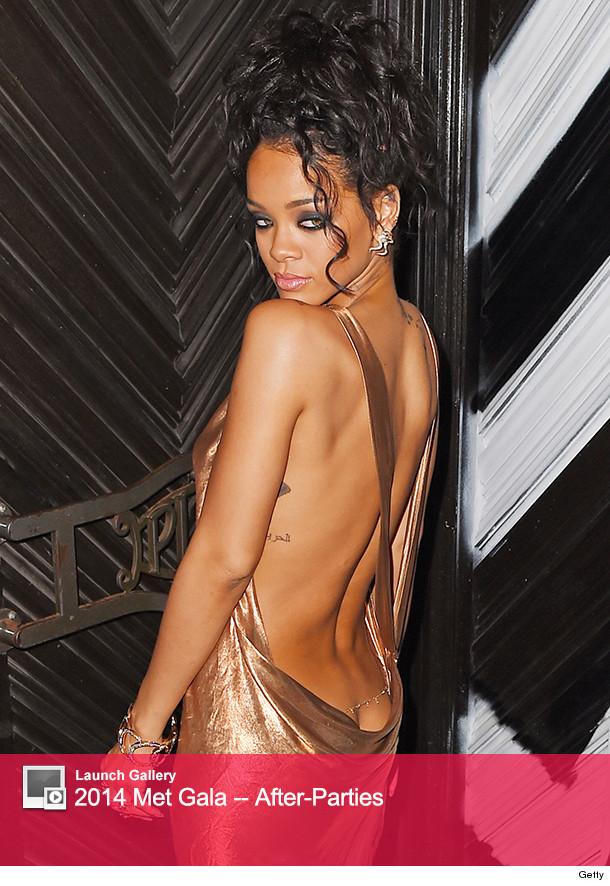 Rihanna Met Gala After Party 2014