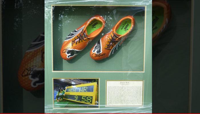 Usain Bolt Shoes Stolen