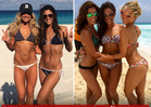 Dallas Cowboys Cheerleaders' Bikini Shoot -- Strippin' Down In Cancun [PHOTOS]