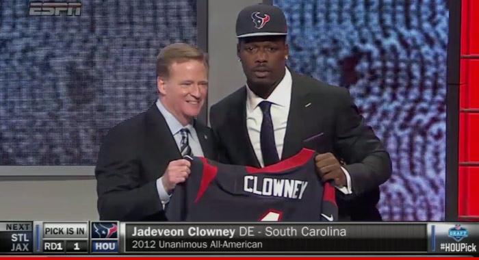 Jadeveon Clowney NFL Draft
