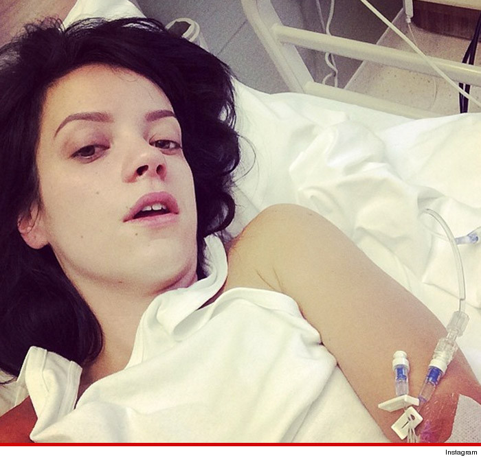 Lily Allen Hospitalized