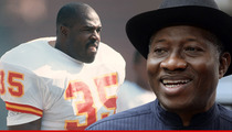Christian Okoye Calls Out Nigerian President ... What Took So Long to Hunt for 276 Girls?