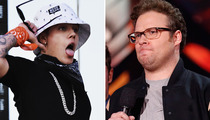 "Justin Bieber Responds to Seth Rogen's ""Piece of S**t"" Remarks"
