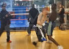 Champion Boxer Deontay Wilder KNOCKS OUT Inter