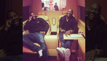 Tyrese Bout that Life -- He Drove to Vegas ... Just for Pizza ... In a $350,000 'Rolls Royce' Van