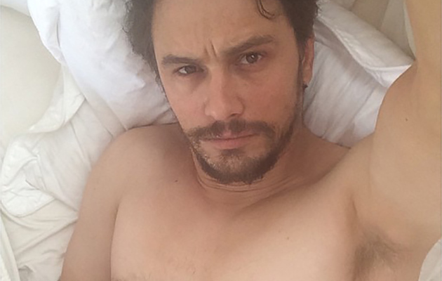 "Video: James Franco Defends Naked Selfies on ""Late Show"""