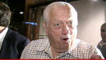 L.A. Dodgers -- NOT FIRING LASORDA ... For Wishing Car Crash on V. Stiviano