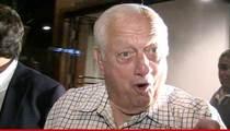 L.A. Dodgers -- NOT FIRING LASORDA ... For Wishing Car Crash on V. Stiviano