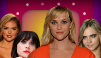 Reese Witherspoon -- Party Video Raises Question ... Who'd Ya Rather?