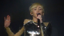Miley Cyrus -- Cracks Date Rape Joke During Club Appearance