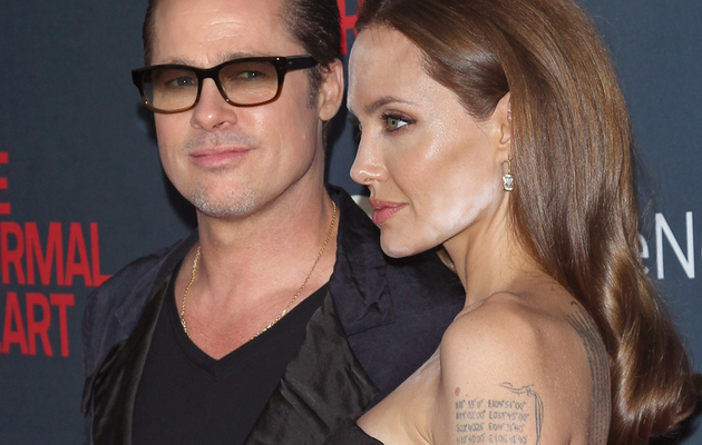 Angelina Jolie Has a Huge Makeup Malfunction!