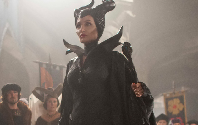 "Pax & Zahara Spotted In New ""Maleficent"" Photo -- They're So Cute!"