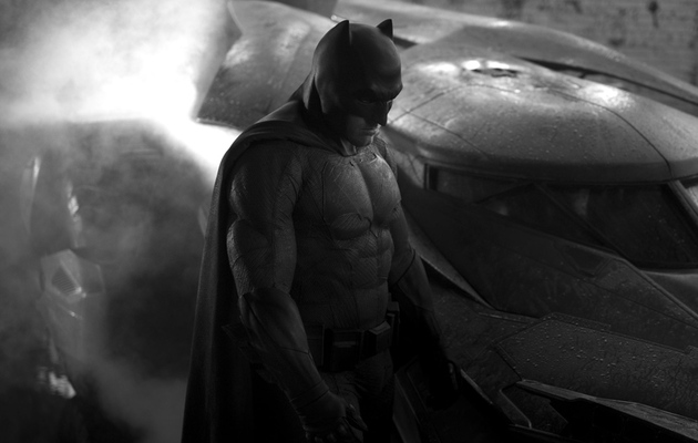 First Photo of Ben Affleck In Batman Batsuit Revealed!
