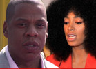 Jay Z and Solange -- Jewelry Shopping TOGE
