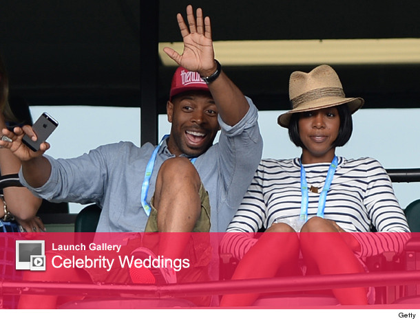 Kelly Rowland Marries Tim Witherspoon
