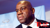 Magic Johnson -- DONALD STERLING NEEDS HELP ... We Should Pray for Him