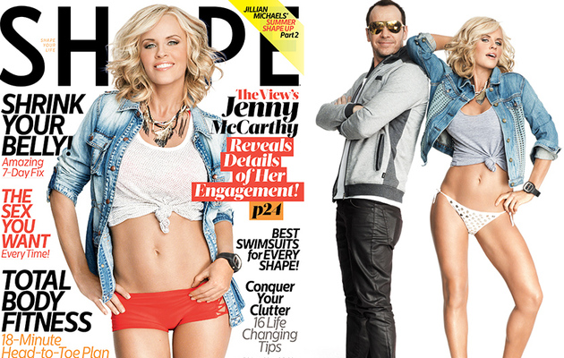 Jenny McCarthy, 41, Shows Off Hot Bikini Bod in Shape!