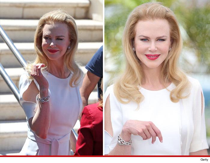 Nicole Kidman Face