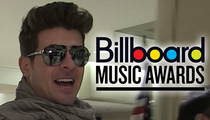 Robin Thicke Will BEG to Get Paula Patton Back at Billboard Awards -- 'I Should've Kissed You Longer'