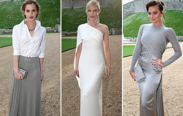 Emma Watson, Cate Blanchett & More Stun at Prince William Charity Dinner
