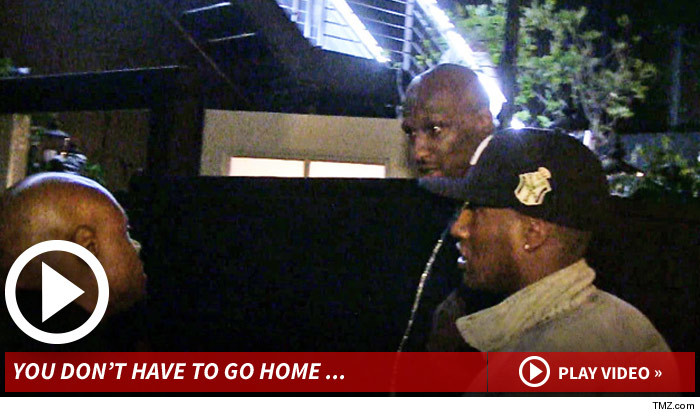 Lamar Odom Denied at Club