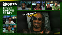 Snoop's Youth Football League -- CHURNS OUT 3 MORE NFL PLAYERS