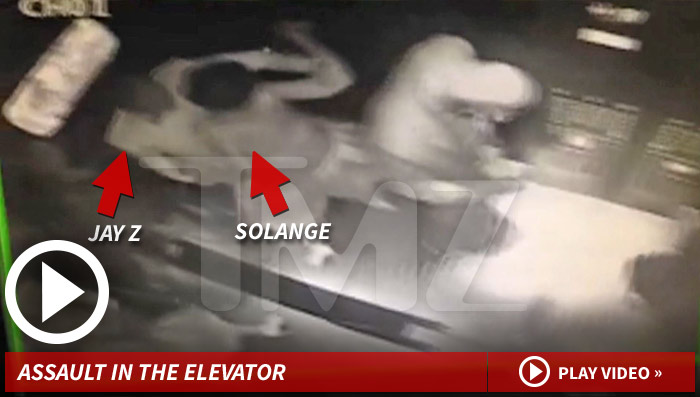 Jay Z Attacked By Solange Knowles