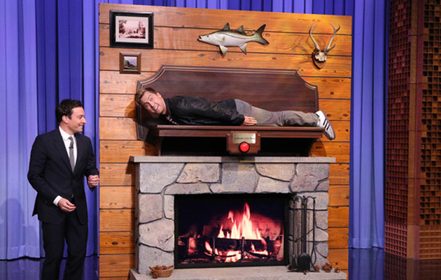 "Video: Lance Bass Impersonates a Singing Bass on ""The Tonight Show"""