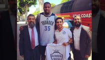 Kevin Durant -- TRIPLE JEWISH BLESSING ... Before Game 6