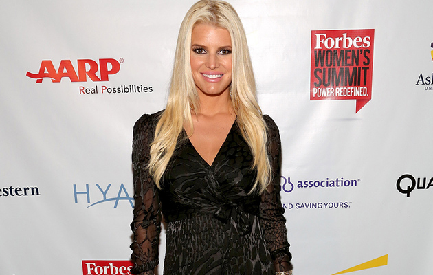 "Jessica Simpson Channels ""Game of Thrones"" at Forbes Summit"