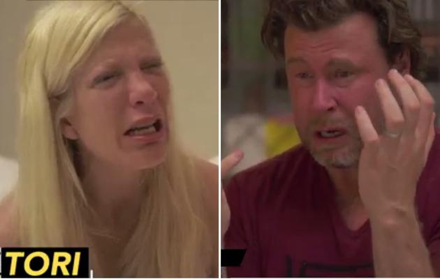 Tori Spelling & Dean McDermott Scream, Break Down in Tears Talking About Marriage!