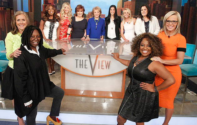 "It's a ""View"" Reunion! All 11 Hosts Unite for Taping of Barbara Walters' Last Show"