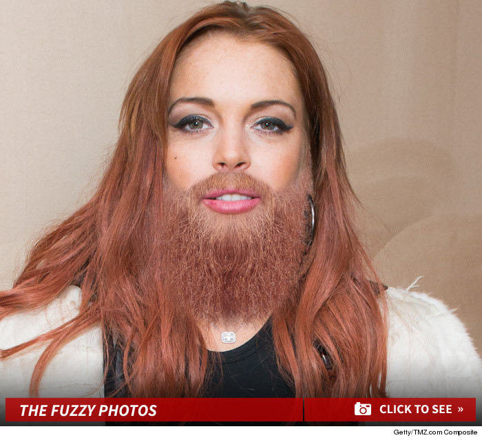 Have Female celebrities with facial hair