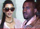 Kim and Kanye -- We're Marrying at Versailles ... Let Them Eat Cake!