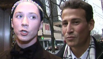 Johnny Weir -- Husband Goes to Cops After Alleged Scratch-Fest