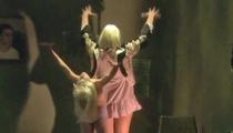 "Sia Performs ""Chandelier"" on ""Ellen"" With ""Dance Moms"" Star Maddie"