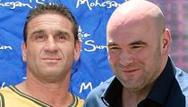 Dana White & Ken Shamrock -- 'We Have Squashed Our Beef'