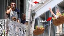 Matthew McConaughey -- Hey, Brad Pitt ... Toss Me a Beer!