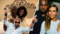 Kim Kardashian -- Ray J's Porn Profits ... Wedding Gift That Keeps on Coming