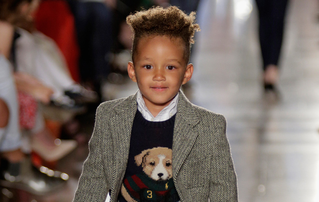 Alicia Keys' Adorable Son Egypt Makes Runway Debut!