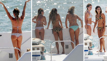 Ashley Tisdale and Vanessa Hudgens -- Throw Boat Load of ASS Party