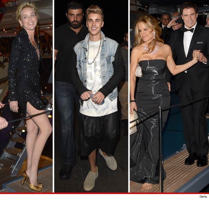 Justin Bieber Cannes Party