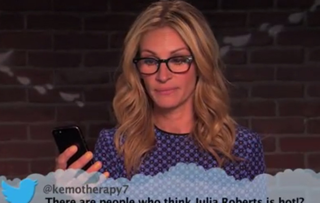 Celebrities Read Mean Tweets -- See Julia Roberts, Emma Stone & More!