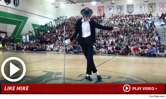 Michael Jackson High School Talent Show