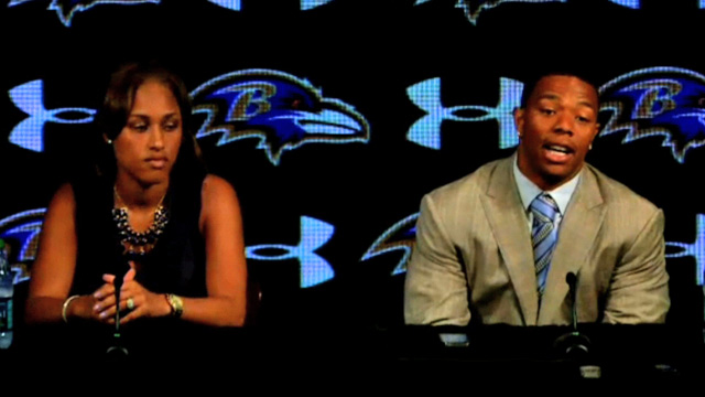 Ray Rice -- I'M SO SORRY ... Wife: I'm Sorry Too